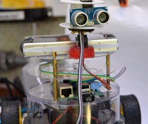 Raspberry Pi CD Box Robot