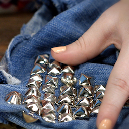 How to Stud Your Clothes
