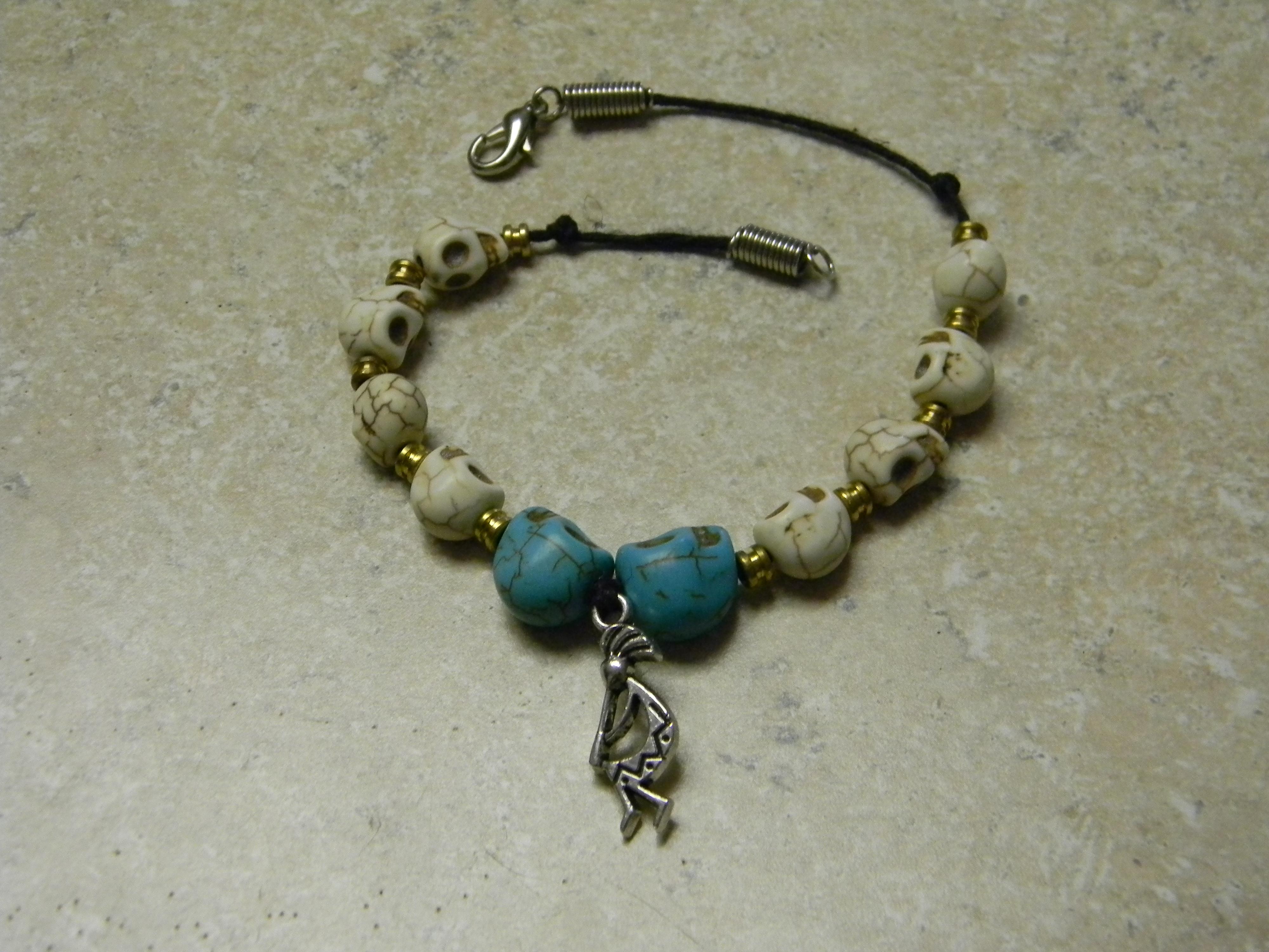 Creative Skull Bead Bracelet for Cheap