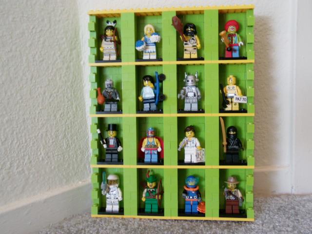 Minifig Display Modules