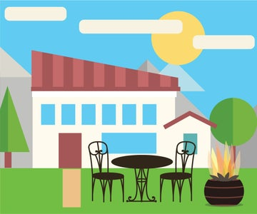 Create a Magical Ambiance by Adding a Fire Pit to Your Deck