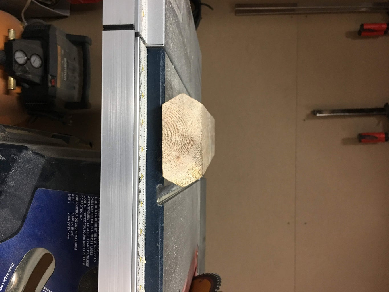 First Cuts : Removing the 4 Corners (ingot Phase)