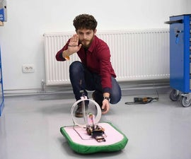 Remote Controlled Hovercraft