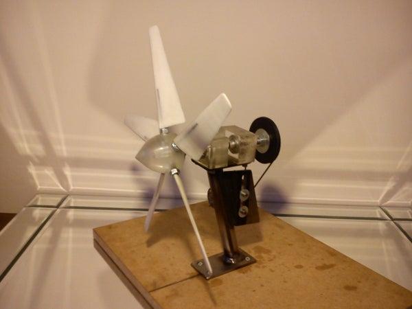 Small Scale Wind Turbine