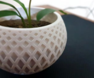 DIY ᐈ 3D Printed Indoor Planters in Just 10 Steps! [ Fusion 360 ]