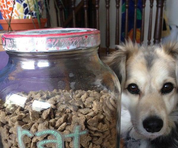 Rustic Rat (Pet) Food Jar