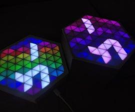 RGB HexMatrix   IOT Clock 2.0