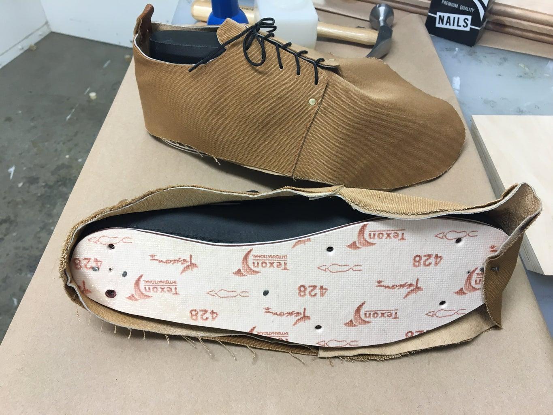 Lasting the Shoe