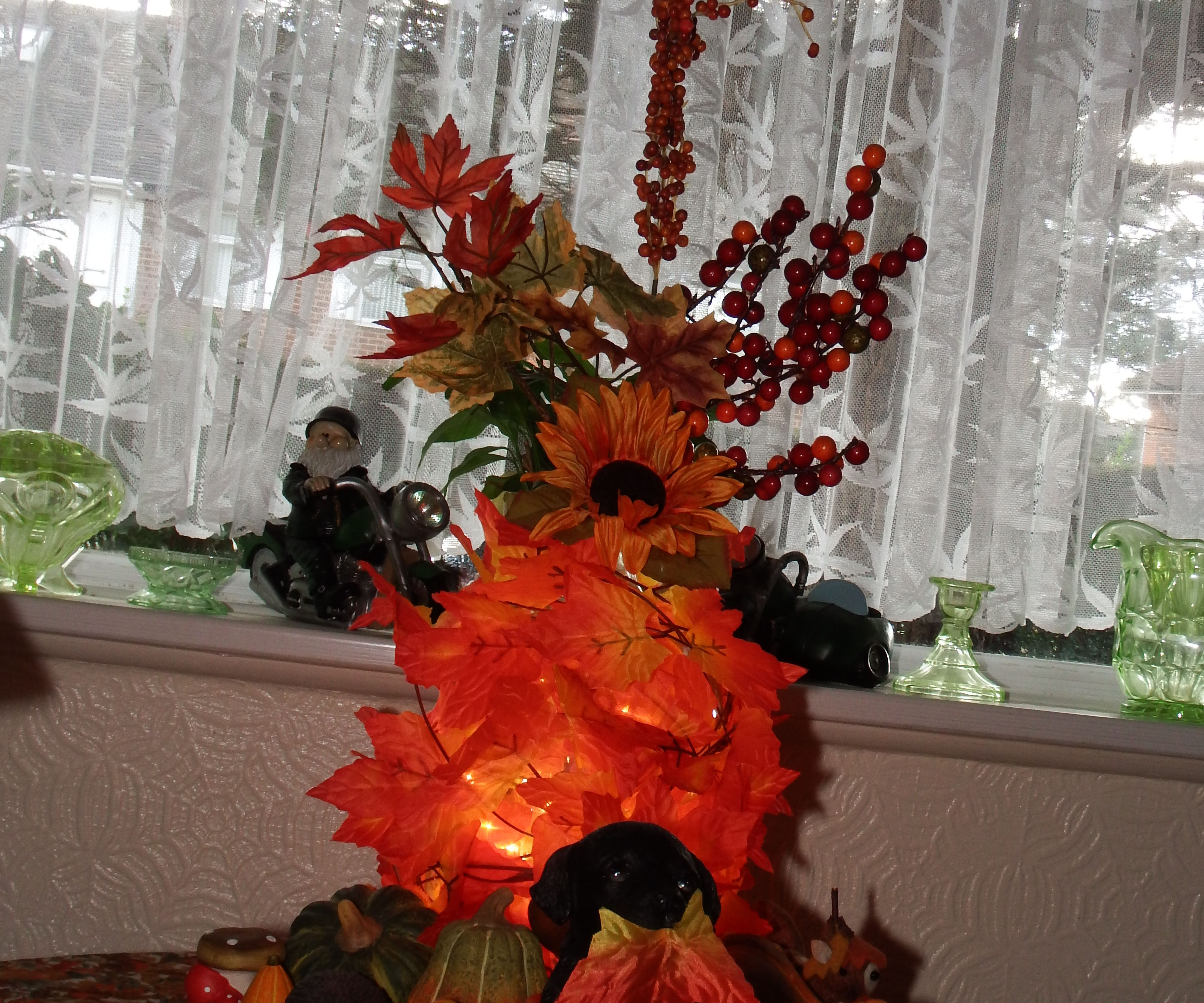 Leafpile Lamp