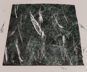 Paint a Faux Marble Finish
