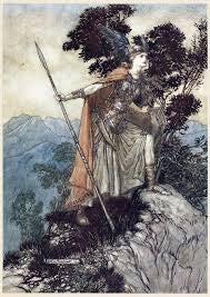 Arthur Rackham's Brünnhilde Costume