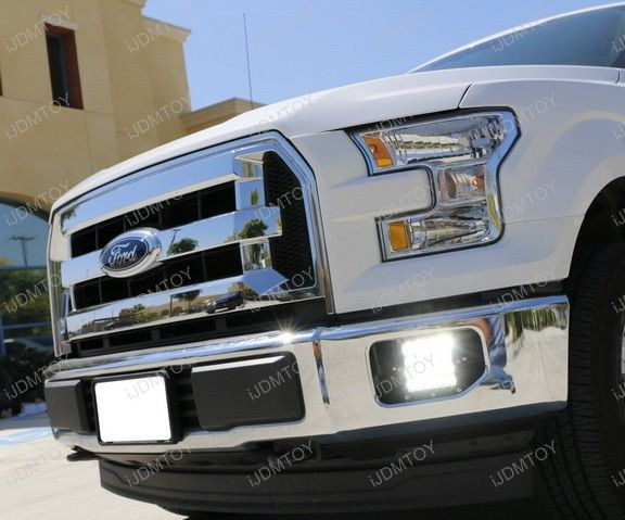 Install Ford F150/Superduty Massive Q-5 CREE LED Foglamps