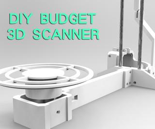 DIY Budget 3D Scanner V3
