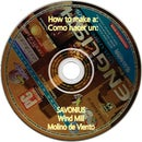 Savonius make one from old CDs DVDs