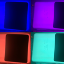 Miniature RGB LED Sign Assembly (Solid Color)