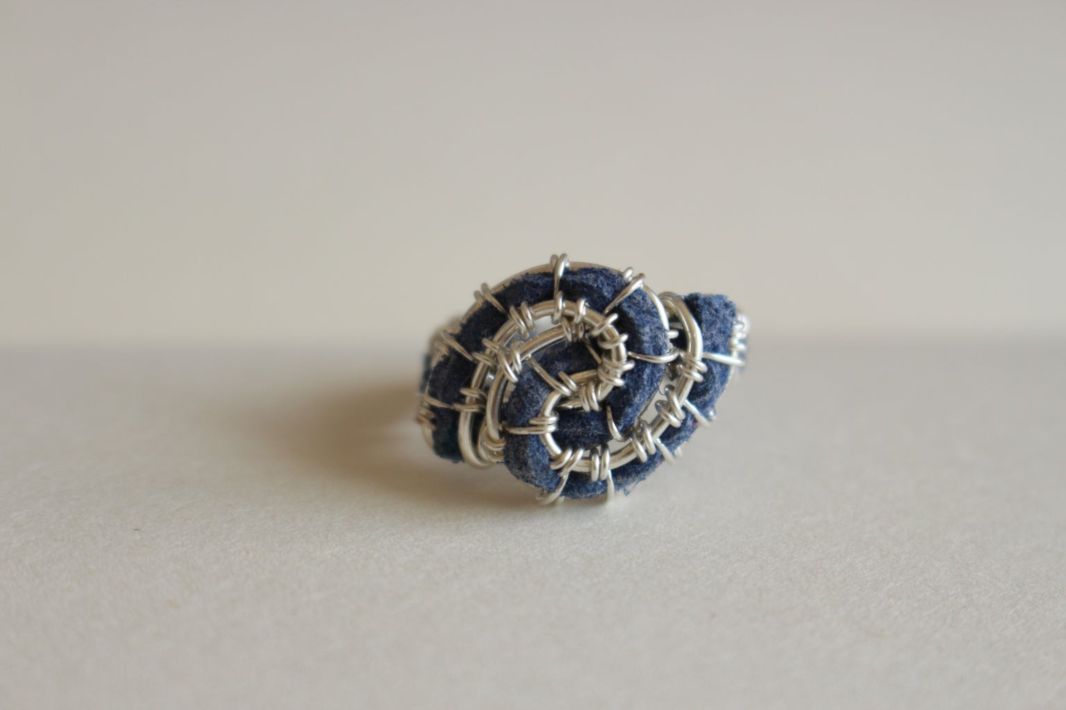 Wirework Twisted Ring