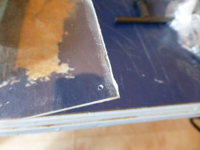 Drill Holes for Swing Doors on Top and Middle Sheet