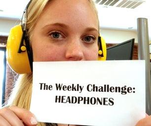 The Weekly Challenge: Headphones