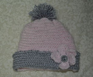 Easy But Cute Crocheted Cap