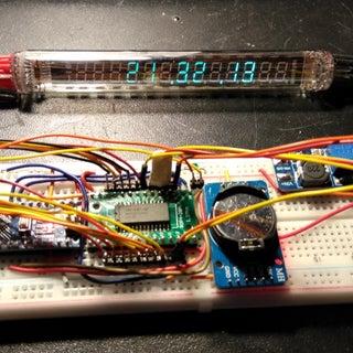VFD Alarm Clock