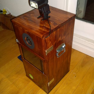 Portable Photobooth (iPad+DSLR)