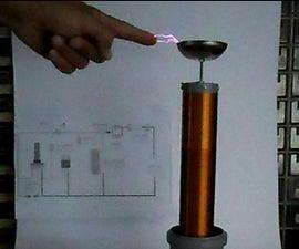 DIY Simple 220v One Transistor Tesla Coil