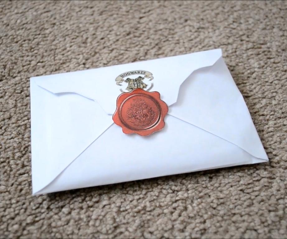 Hogwarts Acceptance Letter Harry Potter DIY   CassKnowlton