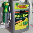 Hydroponic pump from recycled battery operated weed killer sprayer