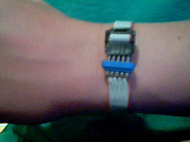 Ribbon Cable Wrist Bracelet
