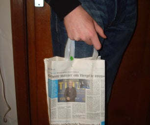 5 Minute Newspaper Bag