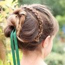 Anna's Coronation Hairstyle (Frozen-inspired)