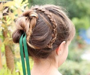 安娜的加冕发型(灵感来源于冷冻)
