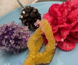 Homemade Borax Crystals
