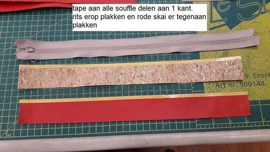 De Souffle Met Rits Maken
