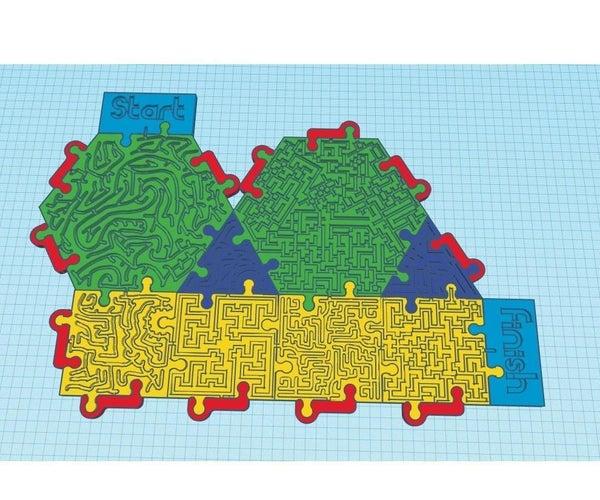 Jigsaw Maze Pieces