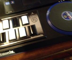 Modify Your Beatmania Turntables Keys