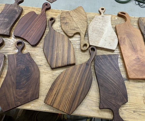 How to Make Charcuterie Boards Using Clear Acrylic Templates