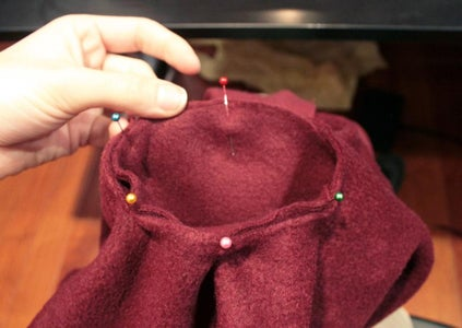 Making the Sleeves