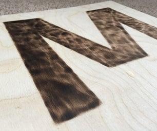 Wood Burning Straight Edges