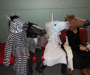 The Equine Wedding Party
