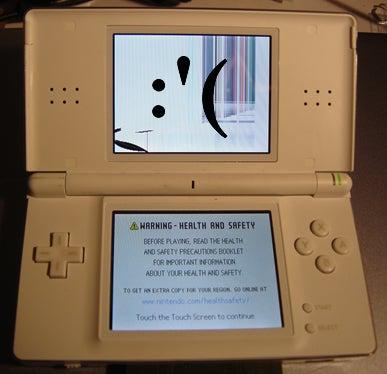Repairing a Nintendo DS Lite