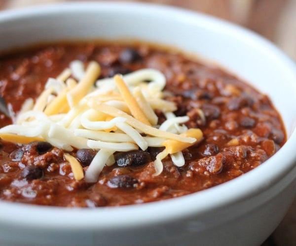 Black Bean Chili Recipe