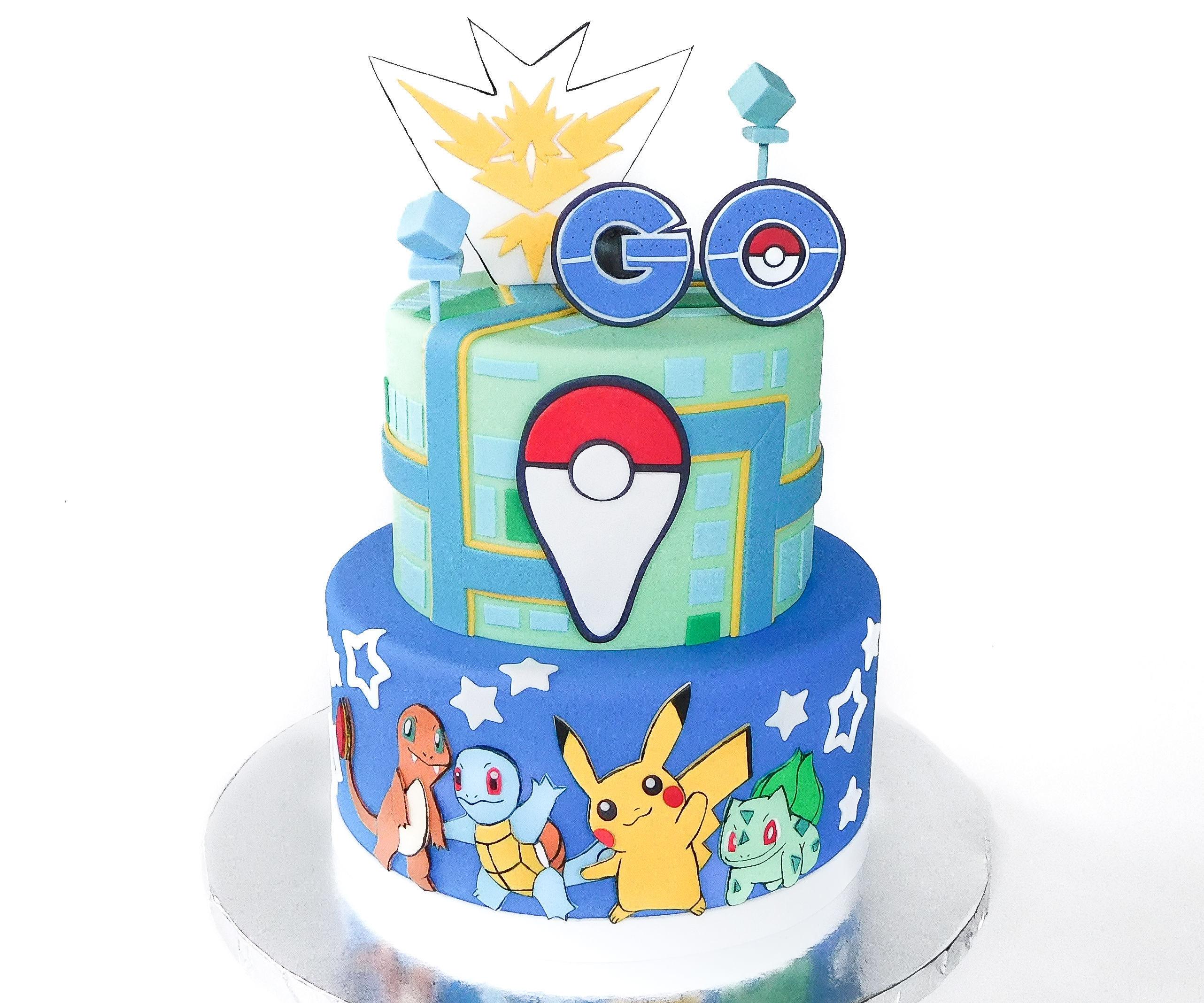 Pokémon Go Cake!