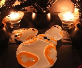 MLAB   Star Wars 3D Printed Rebel Alliance Cookie Cutter Ft BB-8