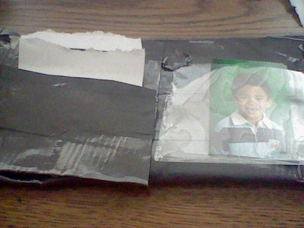 Duct Tape Wallet With Picture