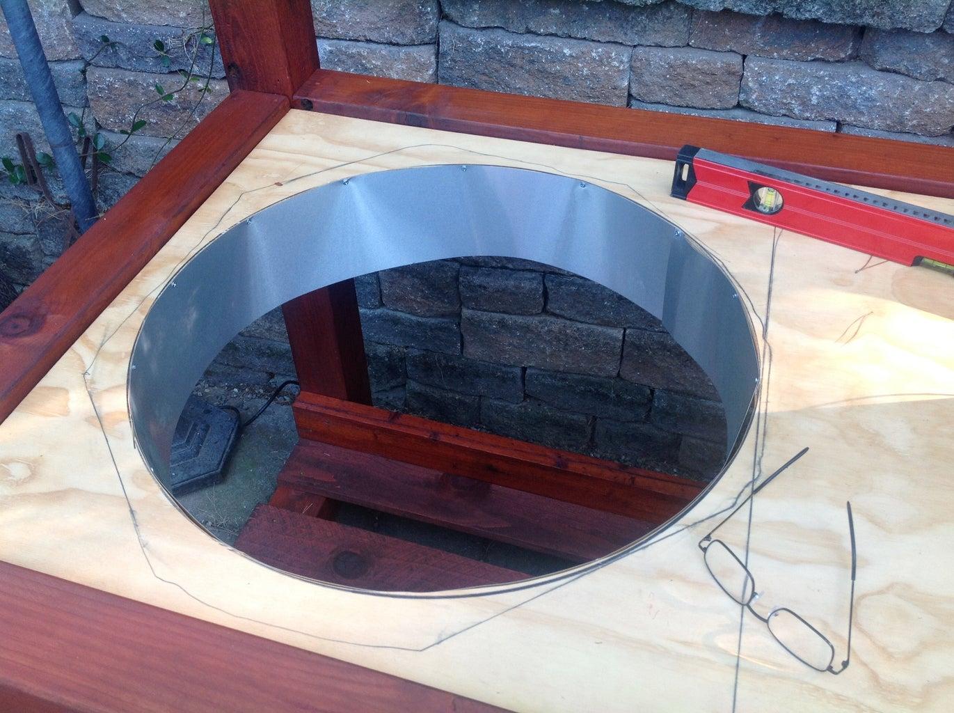 Plywood Sub Surface & Heat Shield