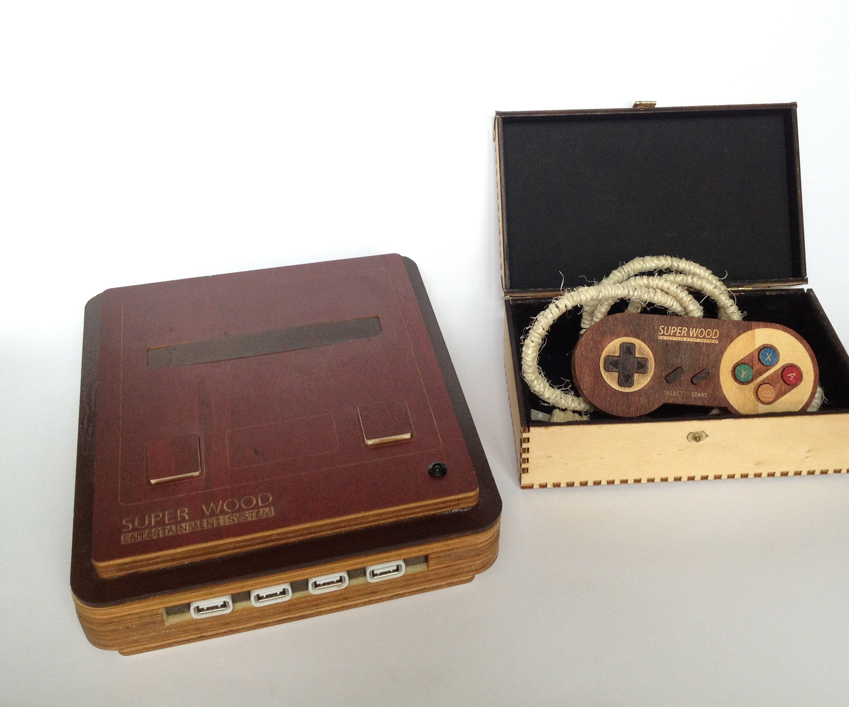 Super Wood Entertainment System