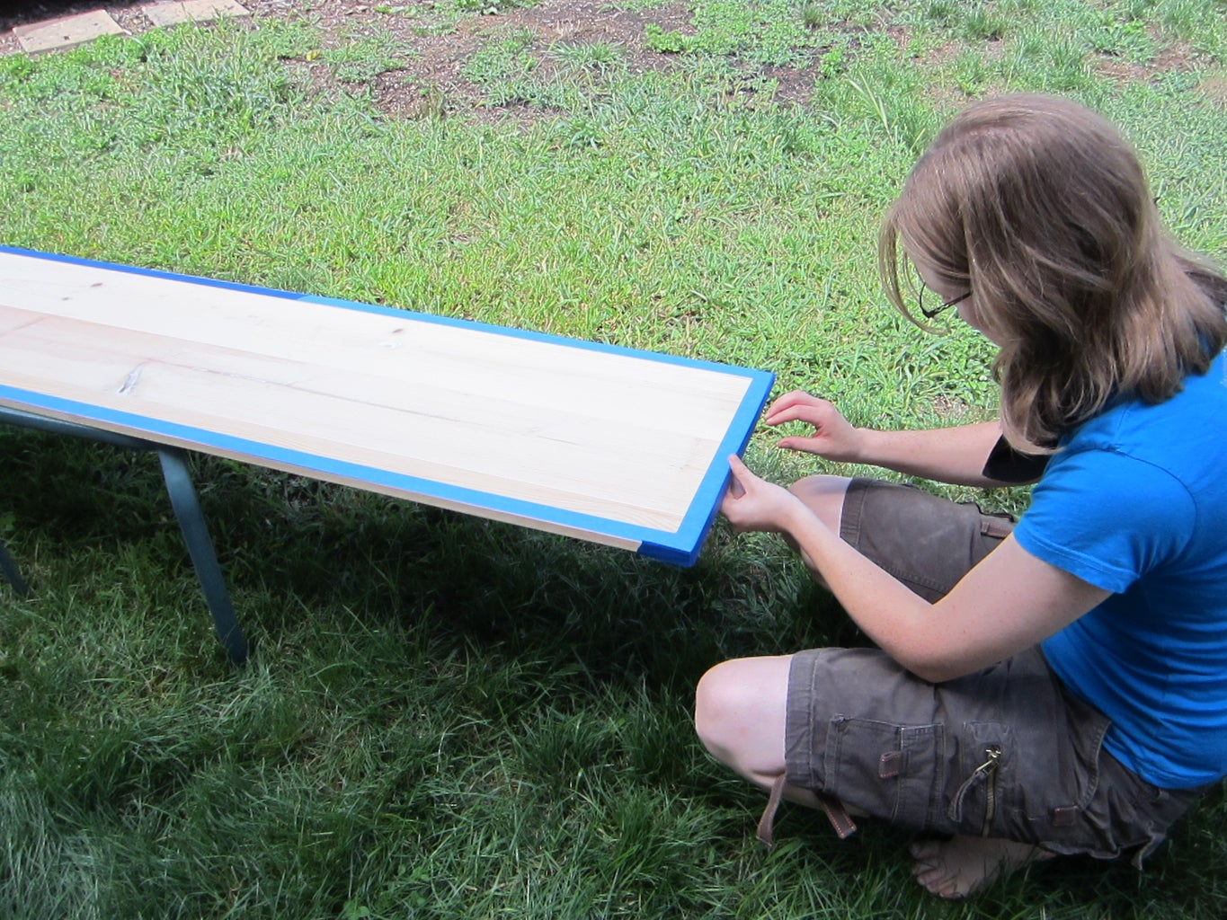 Easy Part: Making the Chalk Board Side