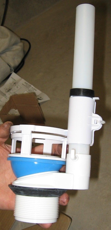 Installing New Dual Flush Converter