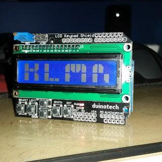 Custom Large Font for 16x2 LCDs